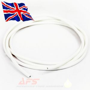 "3Mtr x 4mm (5/32"") I.D White Silicone Vacuum Tubing"